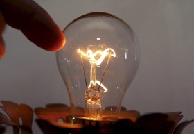Illuminazione, una lampadina