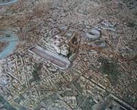 Plastico della città di Roma