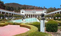 IL PAUL GETTY MUSEUM A MALIBU, LA VILLA