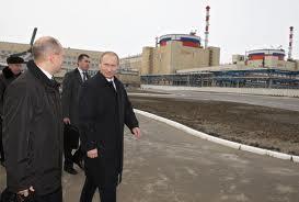 Putin in visita alla centrale atomica di Volgodonsk