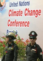 THAILAND CLIMATE CHANGE PROTEST